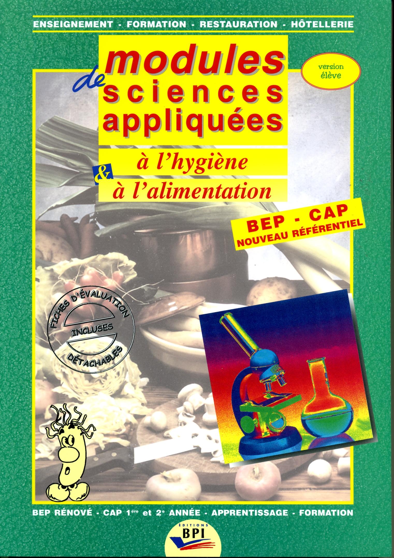 Bpi best practice inside editeur de formations en for Sciences appliquees cap cuisine