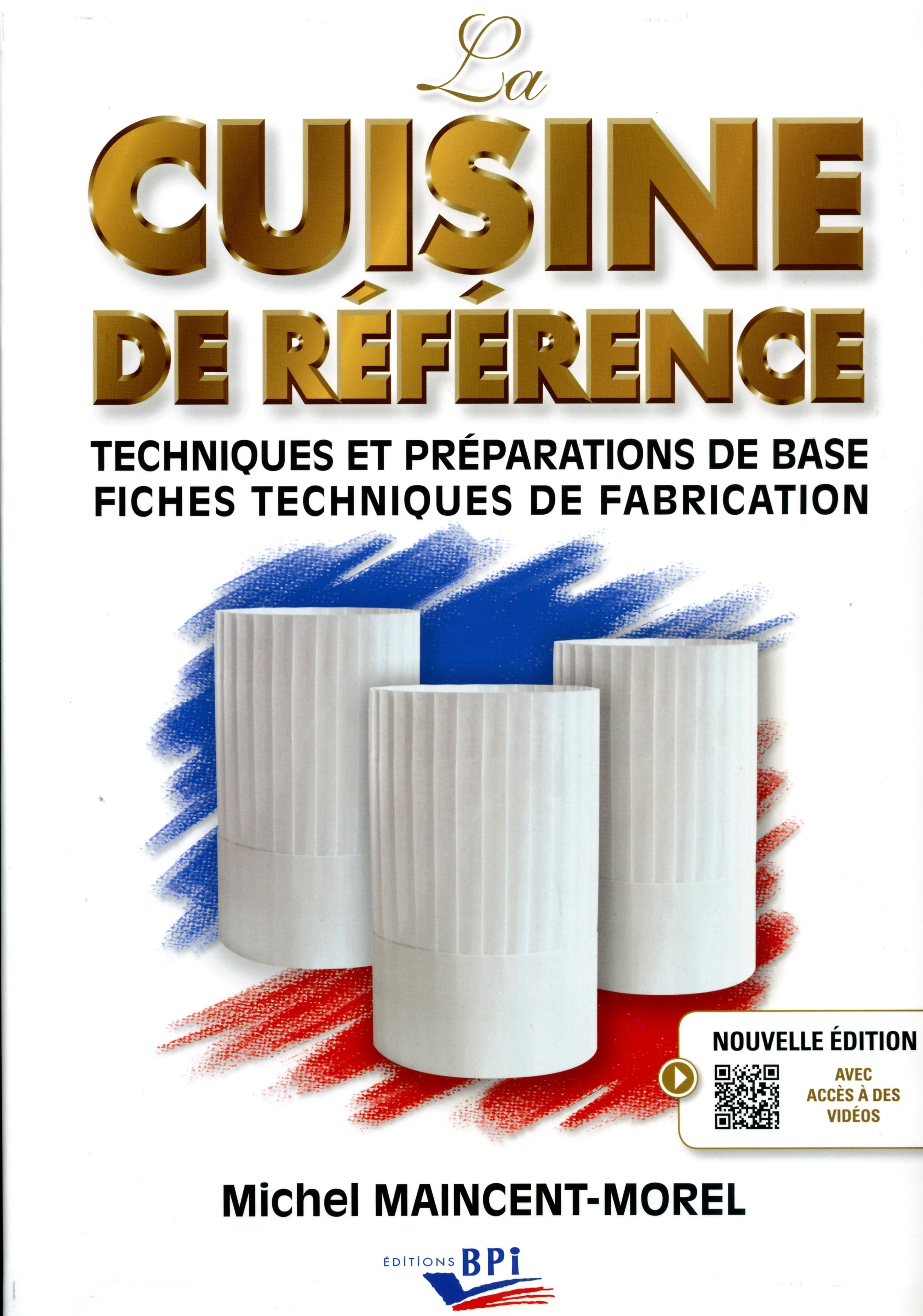 Bpi best practice inside editeur de formations en for Fiche technique de fabrication cuisine collective