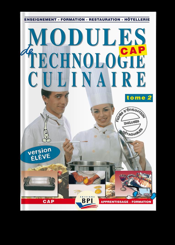 Modules De Technologie Culinaire Tome 2 M Faraguna M