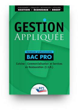 Gestion appliquée -  C. BALANGER,  JC. OULÉ,  B. CLAUZEL - Editions BPI